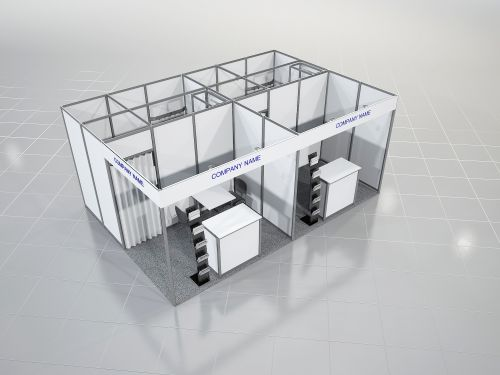 Equipped Stand 12-17 sq. m