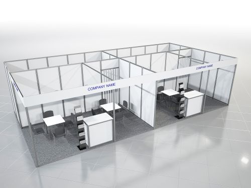 Equipped Stand 18-29 sq. m
