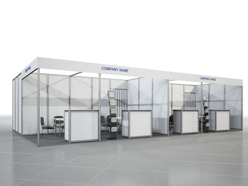 Equipped Stand 30 - 42 sq. m
