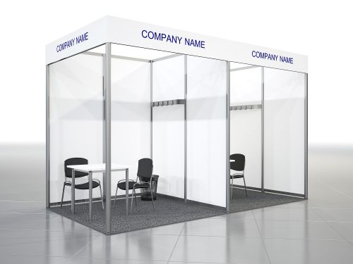 Equipped Stand 4-5 sq. m