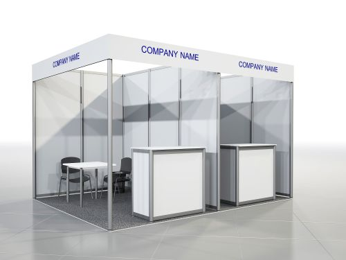 Equipped Stand 6-8 sq. m