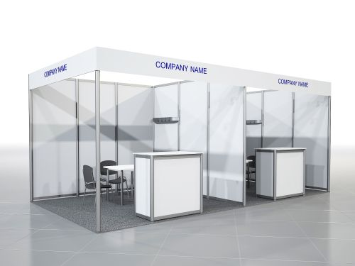 Equipped Stand 9-11 sq. m